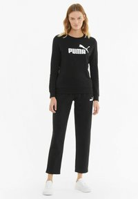Puma - ESS LOGO CREW  - Sweatshirt -  black - 1