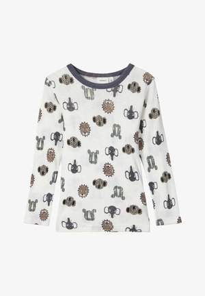 LONGSLEEVE - Long sleeved top - snow white
