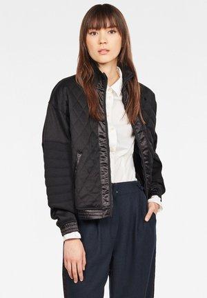 BEETLE QUILT ZIP - Winterjas - black
