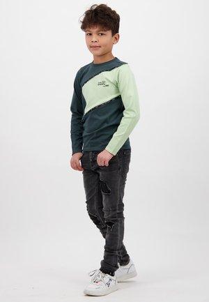 JAEY - Longsleeve - steel green