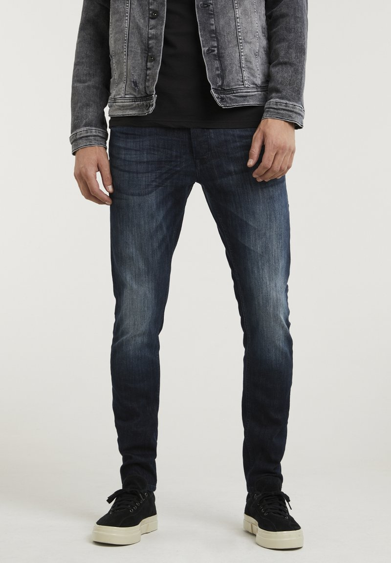 CHASIN' - CARTER NEAL - Slim fit jeans - blue