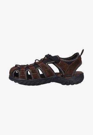 Walking sandals - brown