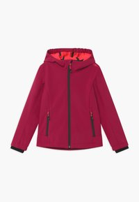 CMP - GIRL FIX HOOD - Soft shell jacket - magenta/red fluo - 0