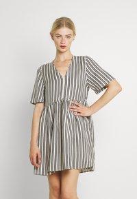 EDITED - MABEL DRESS - Day dress - beige/black - 0