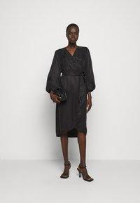 Bruuns Bazaar - SIANNA MONNIKA DRESS - Day dress - black - 1