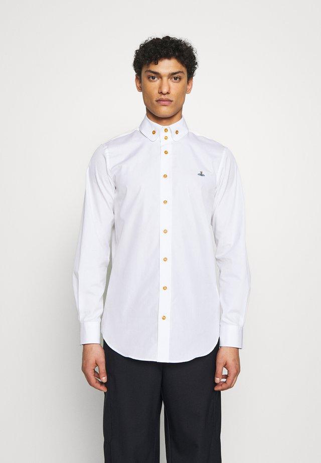 BUTTON KRALL CLASSIC - Skjorta - white