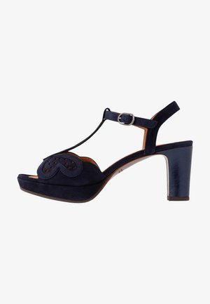 NOMIL - Platform sandals - nuit/navy