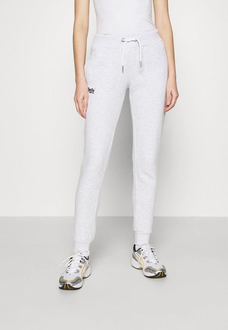 Superdry - ORANGE LABEL  - Pantalon de survêtement - ice marl