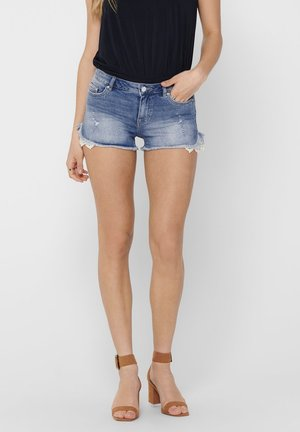 CARMEN  - Jeansshort - dark blue denim
