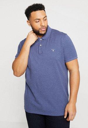 ORIGINAL RUGGER - Polo shirt - dark jeansblue melange