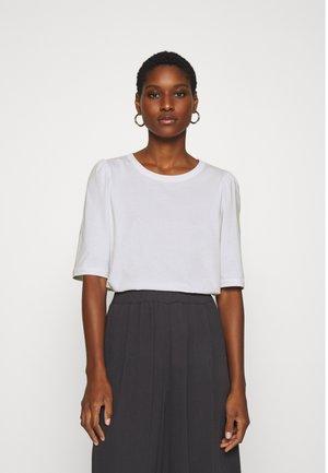 ALVA PUFF TEE - Print T-shirt - white