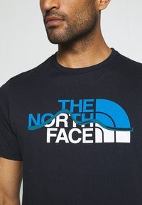 The North Face - MOUNTAIN LINE TEE - T-shirt con stampa - aviator navy - 6