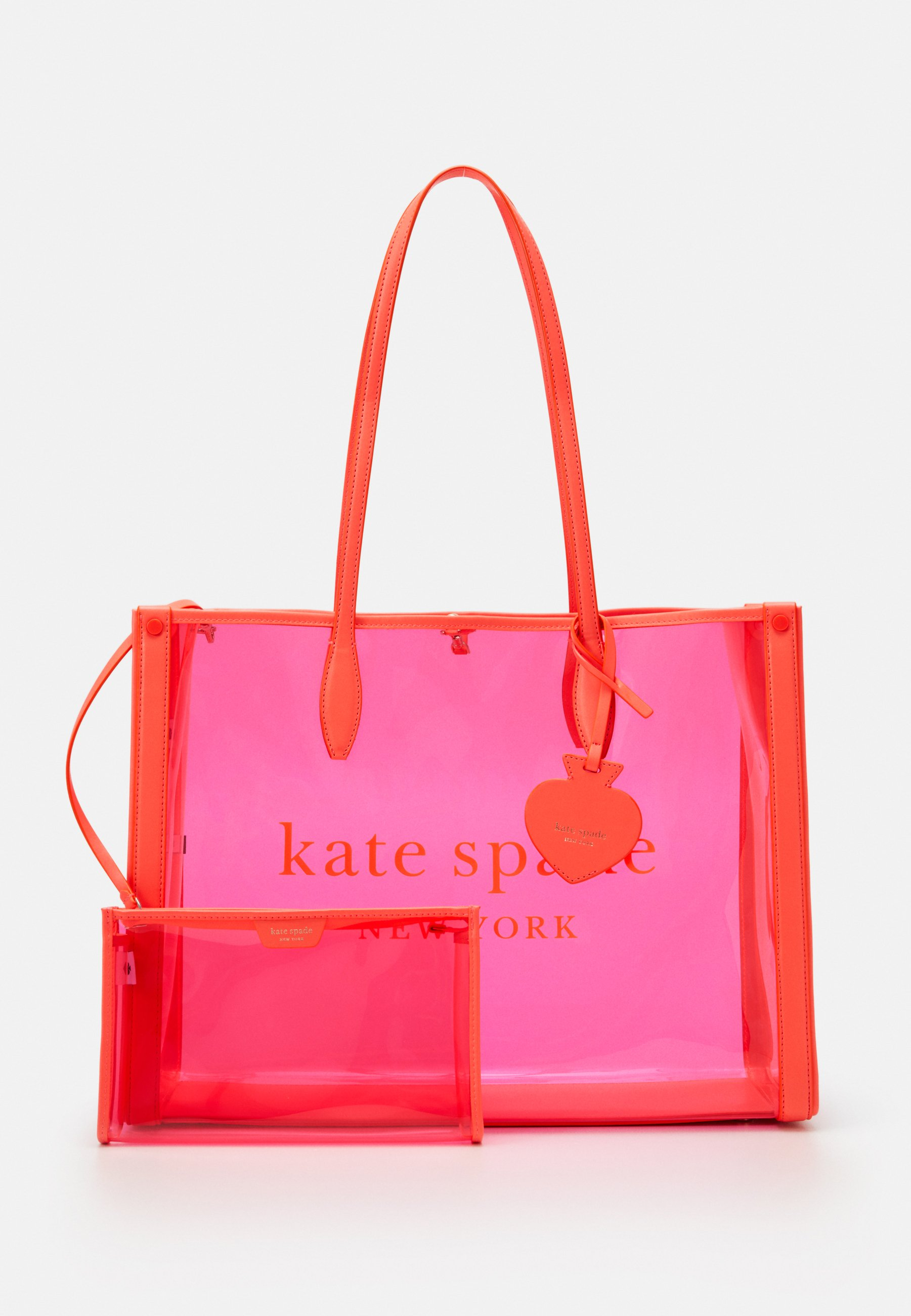 kate spade new york MARKET SEE THROUGH LARGE TOTE - Shoppingveske - pink/rosa 1whVTeJJDYsmYOK