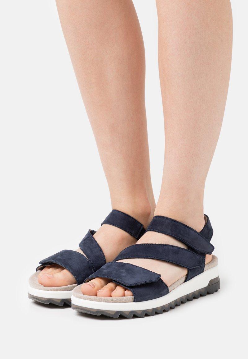 Gabor Comfort - Sandalen met plateauzool - blue