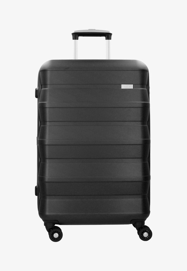 PILE  - Wheeled suitcase - black