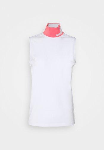 LOU SLEEVELESS GOLF - Top - white
