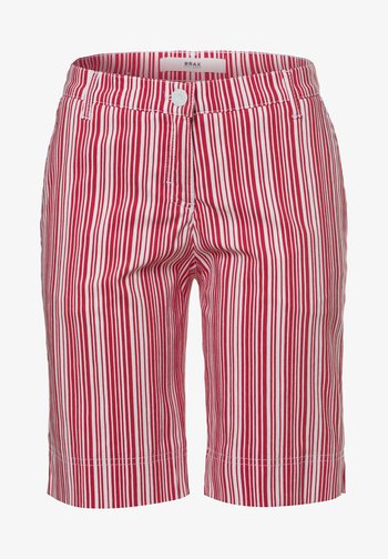 Shorts - red white