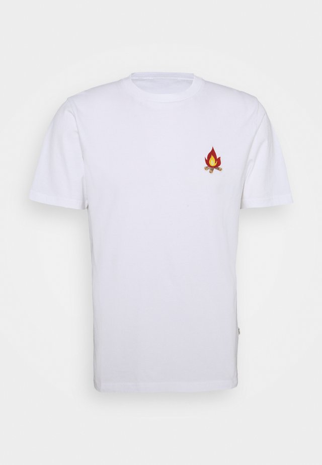 GLOW - T-shirt con stampa - white