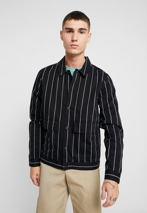 PINSTRIPE - Summer jacket - black