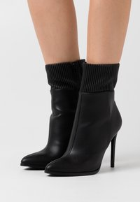 Even&Odd - High heeled ankle boots - black - 0