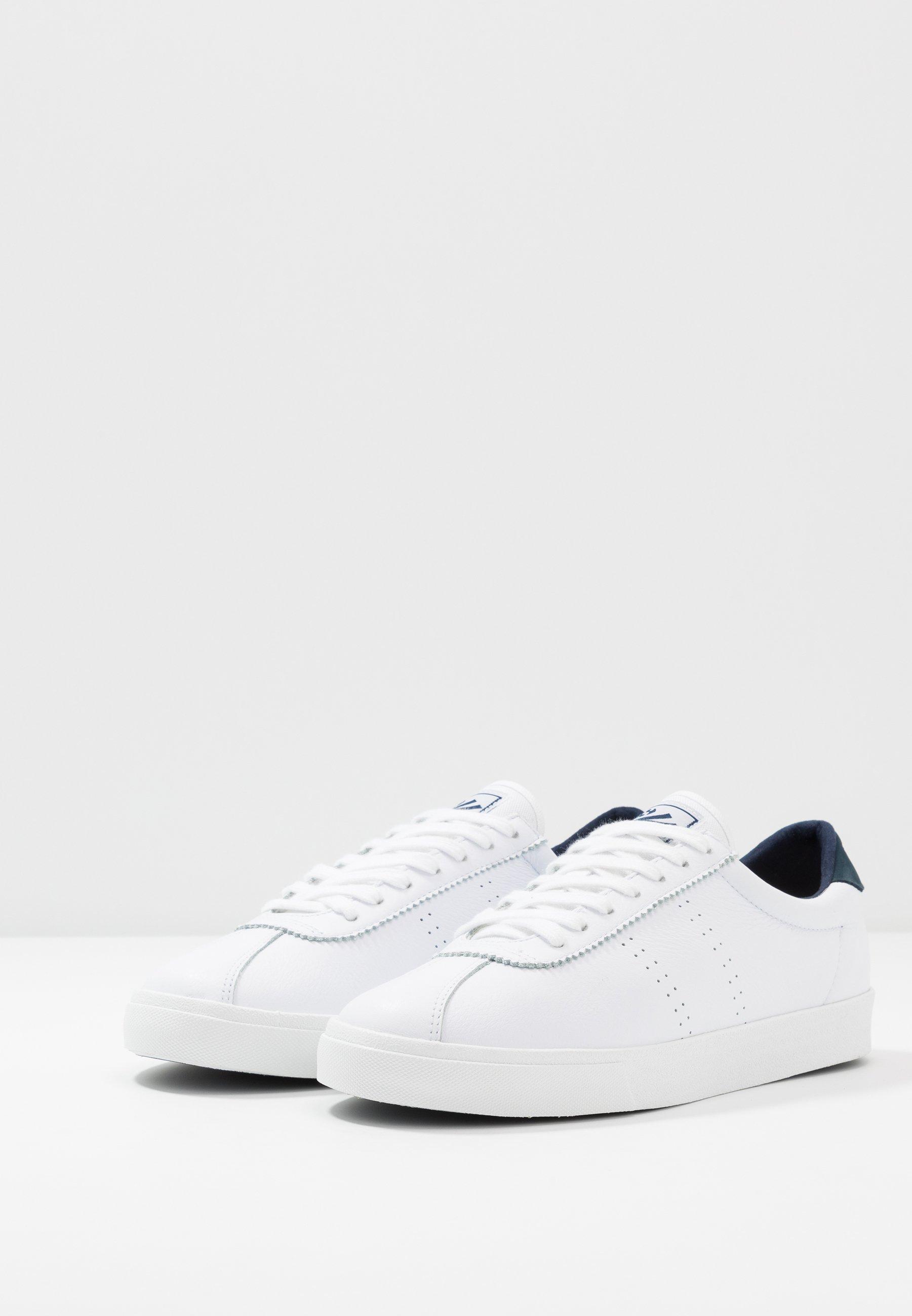 2843 COMFLEAU Sneakers whitenavy