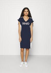 Liu Jo Jeans - ABITO - Sukienka z dżerseju - blu navy - 0