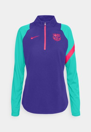 FC BARCELONA DRY  - Fanartikel - deep royal blue/fusion red
