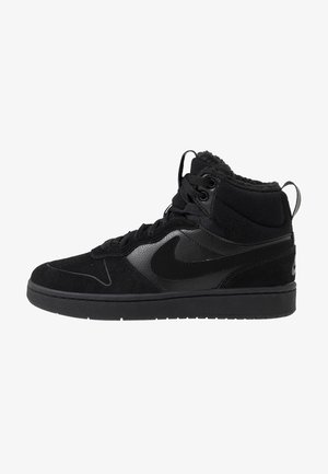 COURT BOROUGH MID 2 BOOT WINTERIZED - High-top trainers - black/white