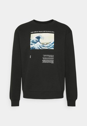 WAVE CREW - Sweatshirt - black
