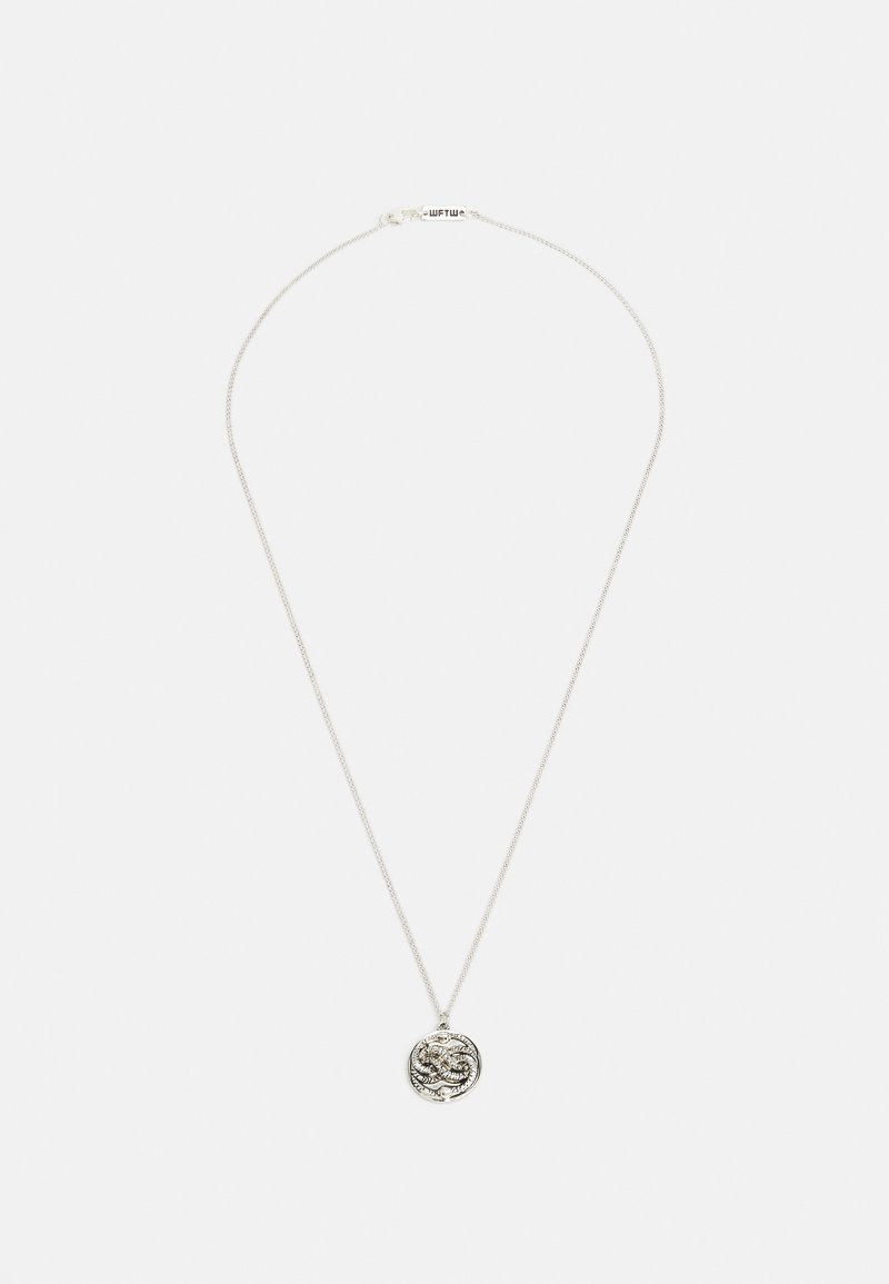 Wild For The Weekend - SNAKE PENDANT - Necklace - silver-coloured