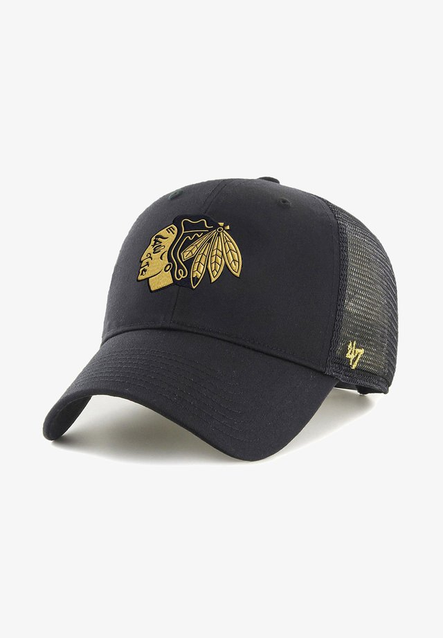 CHICAGO BLACKHAWKS - Cap - schwarz