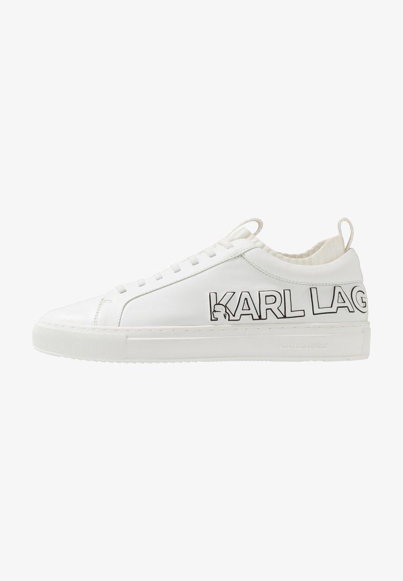 KARL LAGERFELD - KUPSOLE TRACER LOGO - Zapatillas - white