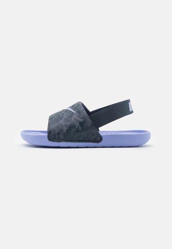 Sandalias de senderismo - thunder blue/purple pulse