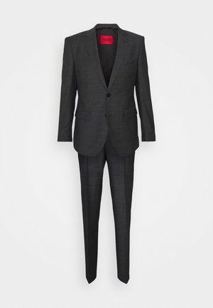 JEFFERY SIMMONS - Suit - charcoal