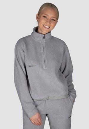 Fleece jumper - steel grey
