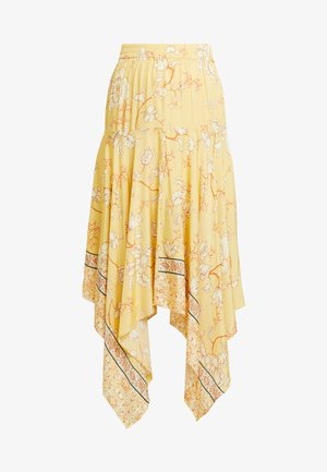ELBA SUNNY SKIRT - A-line skjørt - light yellow