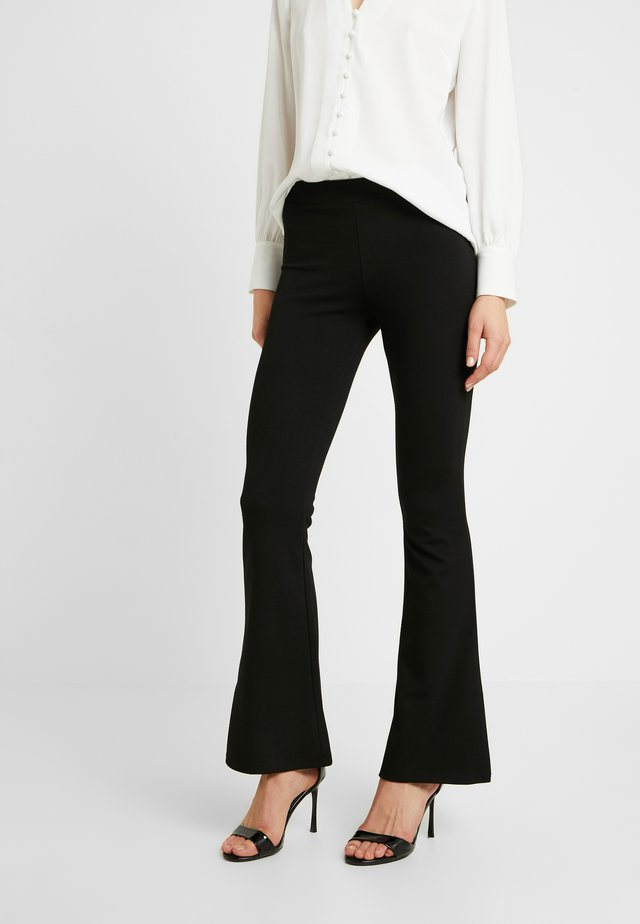 PETRA NORMAL LENGTH - Pantalon classique - black