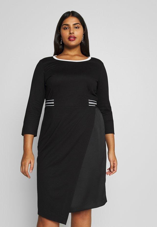 ONDA - Vestido de tubo - nero
