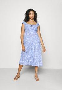 Forever New Curve - ELISE MIDI SUN DRESS - Day dress - light blue - 0