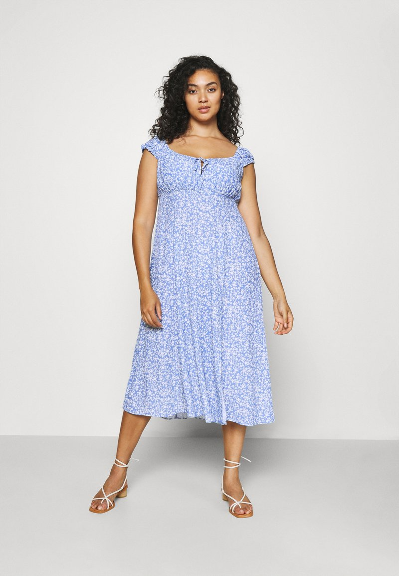 Forever New Curve - ELISE MIDI SUN DRESS - Day dress - light blue