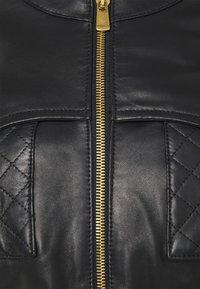 Pinko - OTTUSO GIUBBINO - Veste en cuir - black - 6