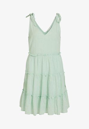 Day dress - cameo green