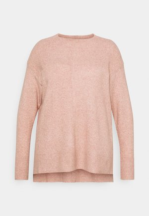 ZENA GROWN NECK - Neule - dusty pink