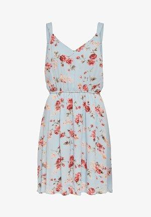 AOP WVN N - Day dress - light blue