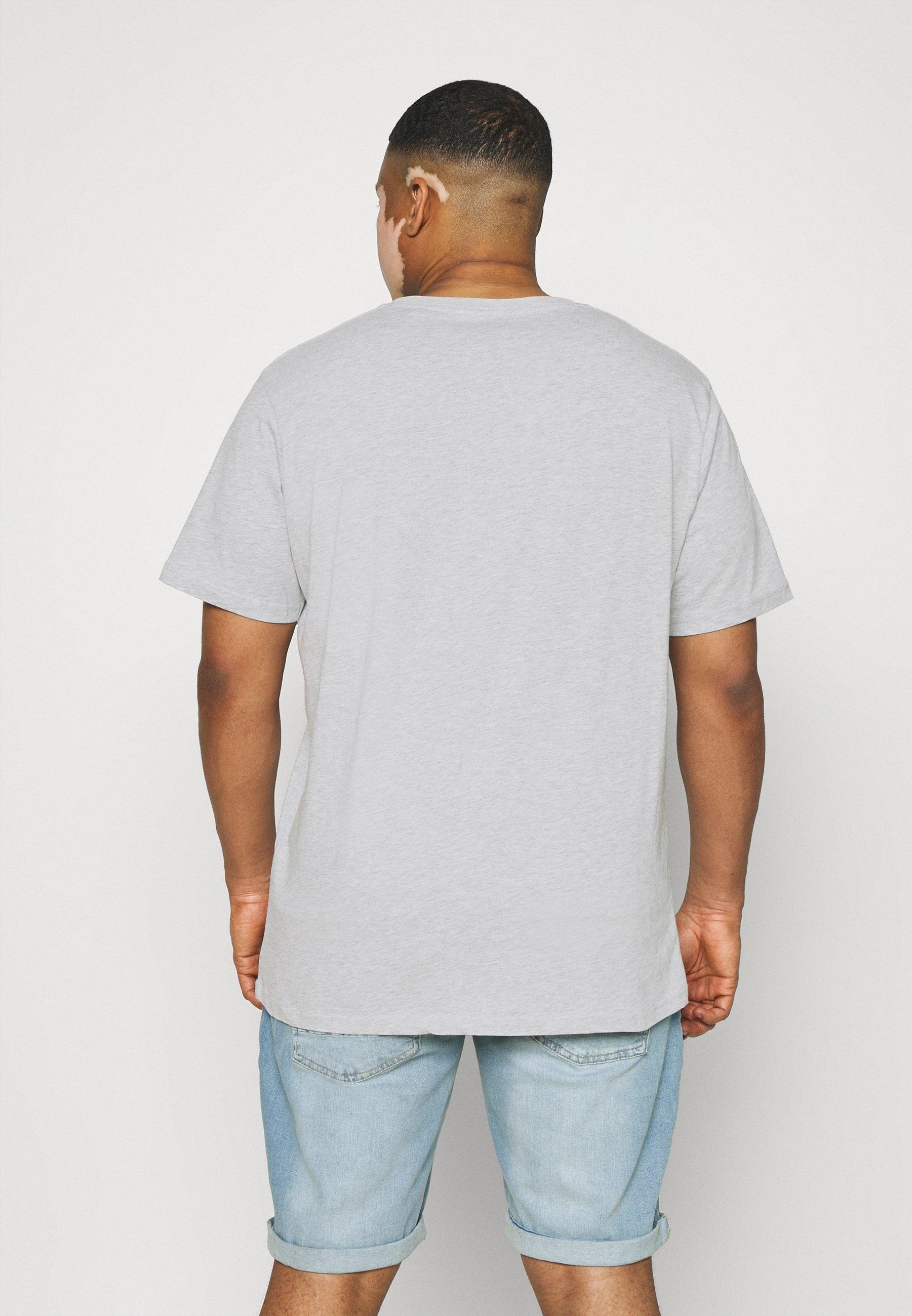 Men COLLEGE PRINT TEE - Print T-shirt