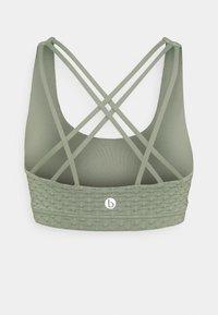 Cotton On Body - STRAPPY SPORTS CROP - Sujetador deportivo - basil green - 1