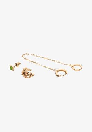 SET - Earrings - goldfarben