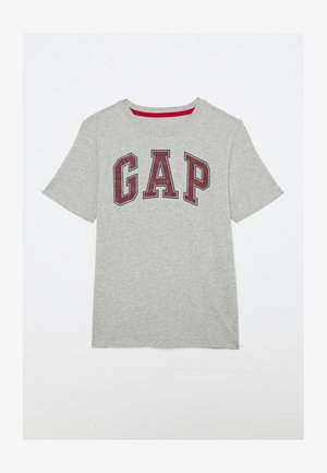 BOYS NEW ARCH SCREEN - Print T-shirt - light heather grey