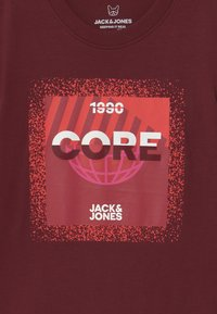 Jack & Jones Junior - JCOSPLATTER TEE CREW NECK - Print T-shirt - port royale - 2