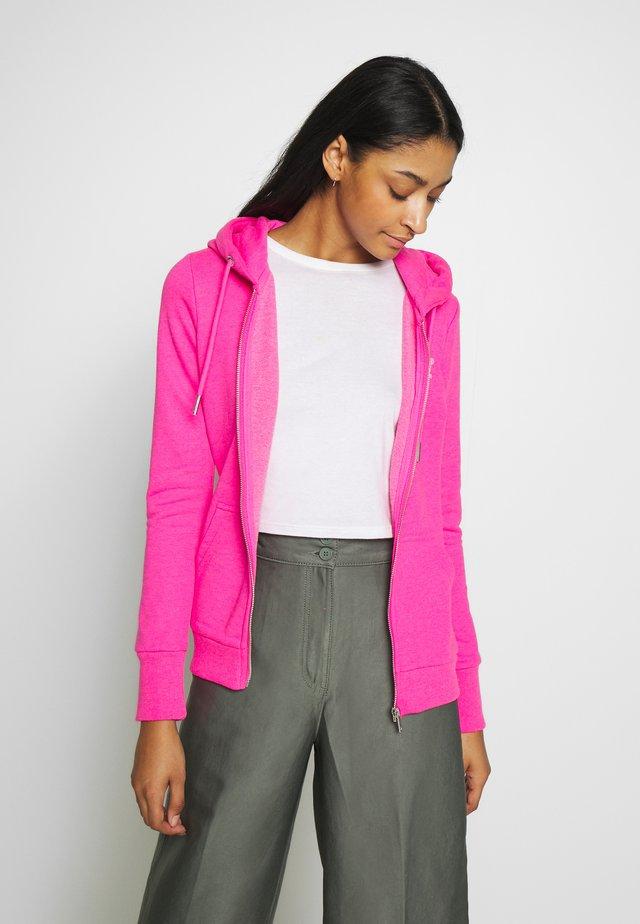 ZIPHOOD - Zip-up hoodie - fluro pink
